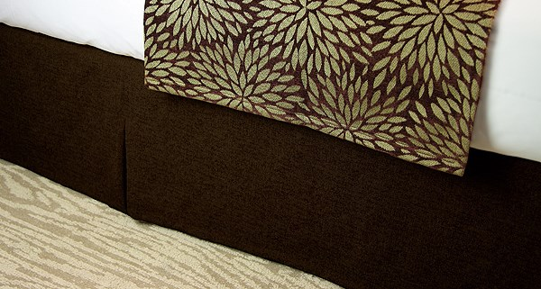 JDT Worldwide - Bed Skirt Brown