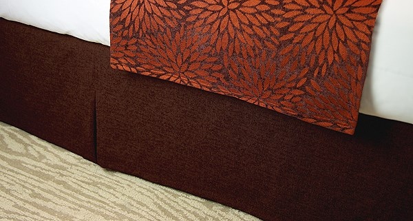 JDT Worldwide - Bed Skirt Russet