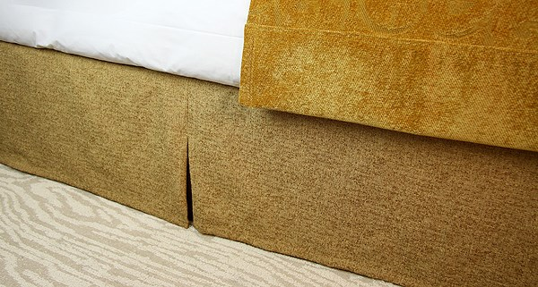 JDT Worldwide - Gold Bed Skirt