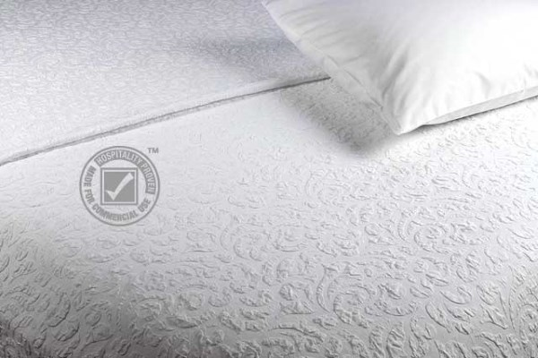 JDT Worldwide - Kiera Damask Coverlet